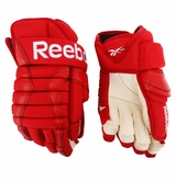 Detroit Red Wings Reebok 852T Pro Stock Hockey Gloves