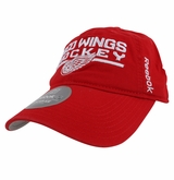 Detroit Red Wings Reebok Center Ice Men's Locker Room Adjustable Slouch Cap