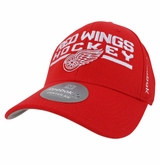Detroit Red Wings Reebok Center Ice Men's Locker Room Structured Flex Cap