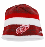 Detroit Red Wings Reebok Center Ice Men's Team Knit Beanie