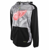Detroit Red Wings Reebok Center Ice TNT Sr. Full Zip Hoody