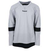 Detroit Red Wings Reebok Edge Gamewear Uncrested Adult Hockey Jersey - Gray