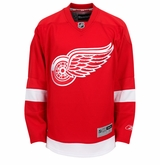 Detroit Red Wings Reebok Edge Jr. Premier Crested Hockey Jersey