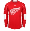 Detroit Red Wings Reebok Edge Sr. Long Sleeve Jersey Tee