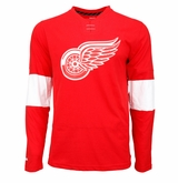 Detroit Red Wings Reebok Face-Off Jersey Sr. Long Sleeve Shirt