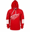 Detroit Red Wings Reebok Edge Sr. Pullover Hoody
