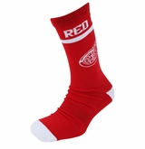 Detroit Red Wings Reebok Sr. Jacquard Crew Socks