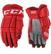 Detroit Redwings CCM Crazy Light Pro Stock Hockey Gloves