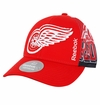 Detroit Red Wings Reebok Center Ice Men's Playoff Structured Adjustable Cap