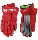 Detroit Redwings Reebok Pro Stock 11K Hockey Gloves