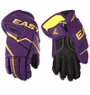 Easton Stealth RS Jr. Hockey Gloves - Purple/Gold