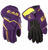 Easton Stealth RS Sr. Hockey Gloves - Purple/Gold