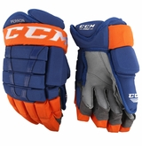 Edmonton Oilers CCM 96 Pro Stock Hockey Gloves - Perron