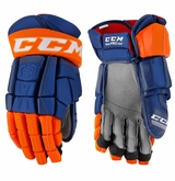 Edmonton Oilers CCM Crazy Light Pro Stock Hockey Gloves