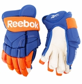 Edmonton Oilers Reebok 10KN Pro Stock Hockey Gloves