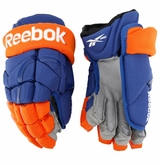 Edmonton Oilers Reebok 11KP Pro Stock Hockey Gloves