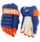 Edmonton Oilers Reebok 852 Pro Stock Hockey Gloves