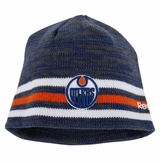 Edmonton Oilers Reebok Center Ice Men's Team Knit Beanie