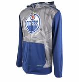 Edmonton Oilers Reebok Center Ice TNT Sr. Full Zip Hoody