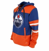 Edmonton Oilers Reebok Face-Off Team Jersey Sr. Hooded Sweatshirt