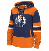 Edmonton Oilers Reebok Faceoff Team Jersey Sr. Hooded Sweatshirt