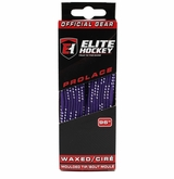 Elite WAXED Molded Tip Laces