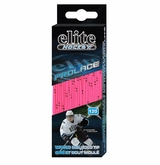 Elite WAXED Molded Tip Laces - Pink