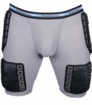 Farrell Hockey 5-Pad Compression Shorts W/ Velcro Sock Holders
