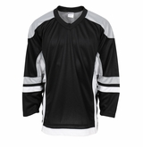Firstar Stadium Hockey Jersey - Black/Gray/White