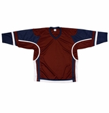 Firstar Stadium Hockey Jersey - Maroon/Navy/White