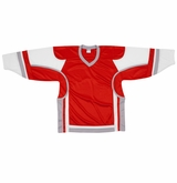 Firstar Stadium Hockey Jersey - Red/White/Gray