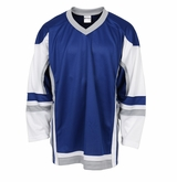 Firstar Stadium Hockey Jersey - Royal/White/Gray