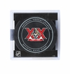 Florida Panthers Official NHL Game Puck with Cube