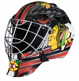 Franklin GFM 1500 Chicago Blackhawks Goalie Face Mask