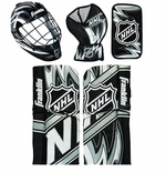 Franklin NHL� Mini Hockey Goalie Equipment & Mask Combo Set