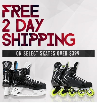 Free Two Day Shipping on Select Skates over $399.00