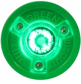Green Biscuit Alien Training Puck