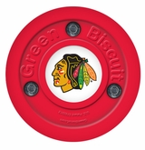 Green Biscuit Chicago Blackhawks Training Puck