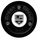 Green Biscuit Los Angeles Kings Training Puck