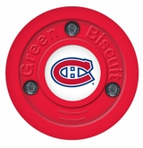 Green Biscuit Montreal Canadiens Training Puck