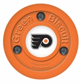 Green Biscuit Philadelphia Flyers Training Puck