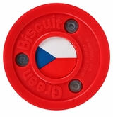 Green Biscuit Team Czech Republic Training Puck