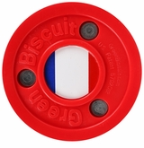 Green Biscuit Team France Training Puck