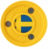 Green Biscuit Team Sweden Training Puck