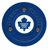 Green Biscuit Toronto Maple Leafs Training Puck