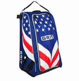 Grit HTSE Hockey Tower 36in. Wheeled Equipment Bag - Team USA