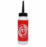 Hockeymonkey.com Tall Water Bottle w/ Straw