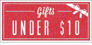 Holiday Gifts Under $10.00 & Stocking Stuffers