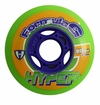 Hyper Formula G 74A Inline Hockey Wheel - Green