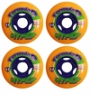 Hyper Formula G 76A Inline Hockey Wheel - Orange - 4 Pack